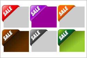 Corner Sale Tags