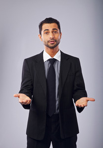 Corporate Man Presenting