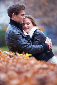 Couple In Fall