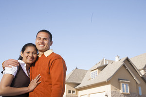 Couple with new home