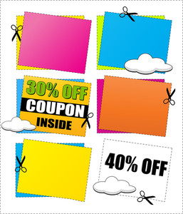 Coupon And Discount Banners