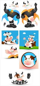 Cow Vectors