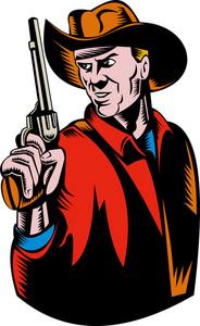 Cowboy Gun Lookingside