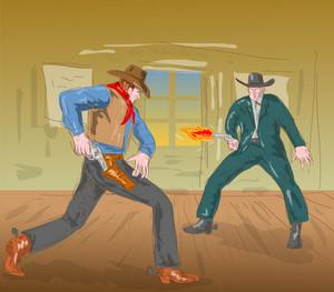 Cowboy Gunfight 2