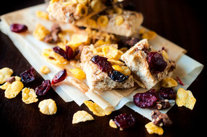 Cranberry And Corn Flakes