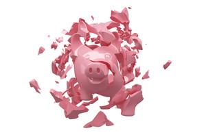 Crashed Piggy Bank