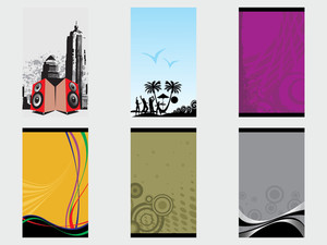 Creative Abstract Vector Banner Set4