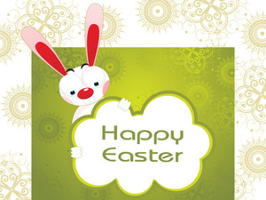 Creative Artwork Background For Easter