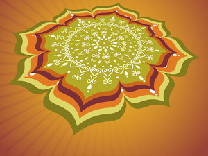 Creative Artwork For Onam