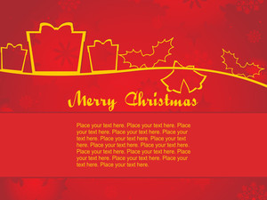 Creative Artwork Pattern Background For Christmas