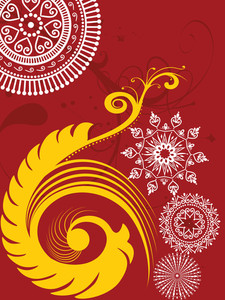 Creative Artwork Pattern Illustration