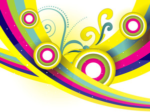 Creative Background With Nice Elements Design2