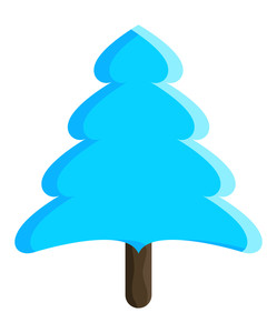 Creative Christmas Tree Vector Design