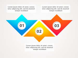 Creative colorful infographic elements for Business reports and presentation.