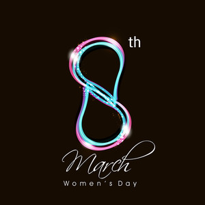 Creative Concept For Happy Women's Day Celebrations.