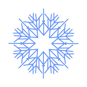 Creative Element Snowflake