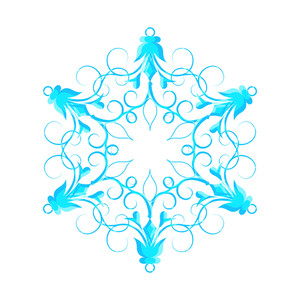 Creative Fancy Snowflake