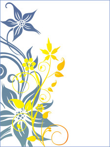 Creative Flower Pattern Background