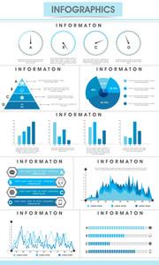 Creative infographic bars