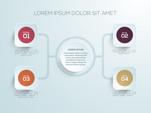 Creative infographic elements for Business reports and presentations.