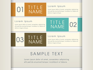 Creative infographic layout for your business with text and numerals on grey background.