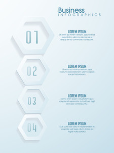 Creative infographic template layout for your Business reports and presentation.