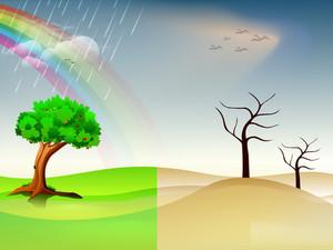 Creative Nature Concept