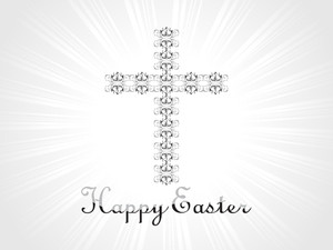 Creative Pattern Cross Illustration