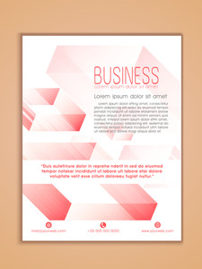 Creative Professional one page Business Flyer Banner or Template design.