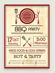 Creative vintage flyer banner