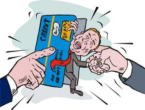 Credit Card Crunch Man