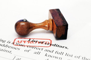 Creditor List - Approved