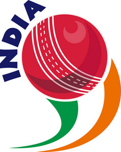 Cricket Ball Flying Out India