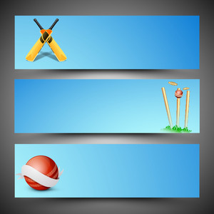 Cricket Website Headers Or Banners