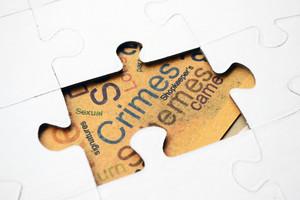 Crimes Puzzle Concept