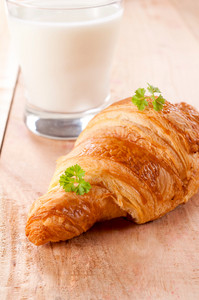Croissant And Yogurt