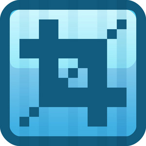 Crop Blue Tiny App Icon