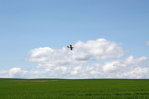 Crop Dusting Airplane