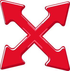 Cross Arrows