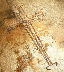 Cross Made From Wire