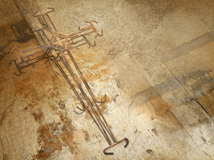 Cross Of Rusty Wire