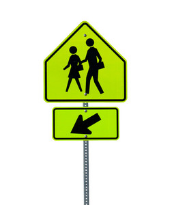 Crossing People Signboard