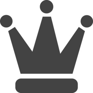 Crown Glyph Icon