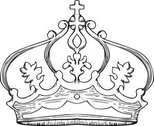 Crown Vector Element