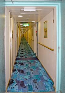 Cruise Ship Hallway