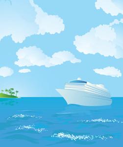 Cruise. Vector.