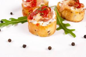 Crunchy Bruschetta
