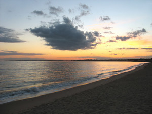 ct beach sunset
