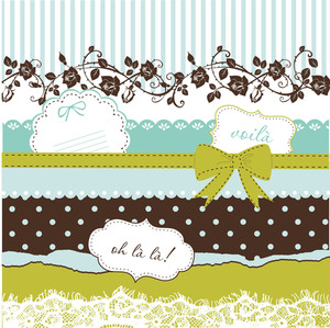 Ctute Scrapbook Elements