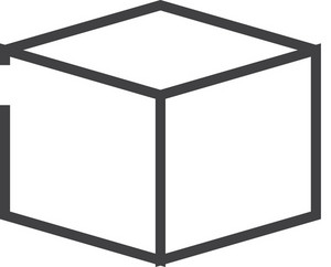 Cube Minimal Icon